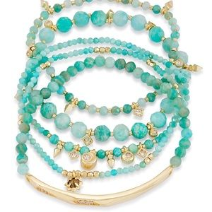 Kendra Scott Supak bracelet in Amazonite